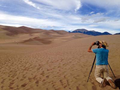 The final leg of the trip ends at Great Sandunes National Park in Colorado