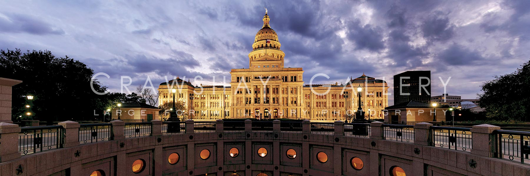 Rear View of the Texas State Capitol in Austin TX